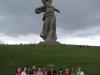 Воспитание патриотизма у спортсменок - посещение мемориала в г. Волгоград