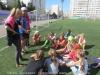 Обучение студенток проведению тактических занятий с детьми ДЮСШ №6