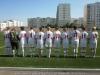 Построение перед началом матча с командой из г. Азов